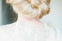 Frisuren Impressionen / Feine Brautfrisuren