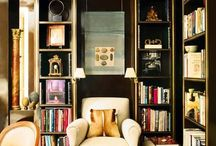 Library / Curl up with your favorite book / by Alice Lane Home Collection