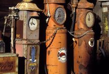 Old Gas Pumps / The highly collectible old gas pumps - I want one for my garage