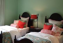 bedrooms / by Sharon Martin