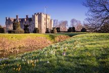 Lovely places! / England, whole world, castles, France, North, forest, nature, library, bookstore, town, city