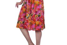 Fashiana cool floral skirt