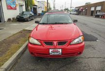 Used 2000 Pontiac Grand Am for Sale ($2,200) at Paterson, NJ / Make:  Pontiac, Model:  Grand Am, Year:  2000, Body Style:  Tractor, Exterior Color: Red, Vehicle Condition: Excellent,  Mileage:141,000 mi, Engine: 4Cylinder L4, 2.4L; DOHC 16V, Fuel: Gasoline Hybrid, Transmission: Automatic.   Contact:  973-925-5626   Car Id (56677)