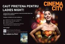 """CONCURS """"LADIES NIGHT LA CINEMA CITY"""" / Unii isi cauta prieten pentru sfarsitul lumii. Eu te caut pe tine, o tipa carismatica, sa mergem impreuna la film. De fapt o petrecere si o avanpremiera cu muuuuult popcorn ;) Deadline: joi, la 12 iulie, la ora 12:00"""