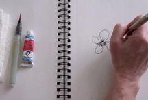Doodling/drawing