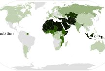Muslim population map