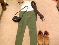 roupas com bota aventureira