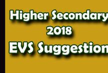 H.S. 2018 Exam | EVS Suggestion | SuggestionPedia