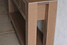 Kartonnen meubels