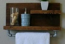 repisas para baño