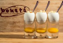 Nuevos aperitivos / os presentamos los nuevos aperitivos que han salido de nuestra cocina, de mano de nuestro chef Taky. Podéis degustarlos en cualquiera de nuestros eventos!