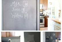 Chalk it Up / Endless possibilities of what can become a blackboard!