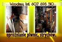 czyszczenie piwnic Wrocław