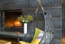 Open fireplace designs