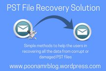 PST file recovery