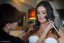 Bridal Makeup / Beautiful bridal makeup with smokey eye
