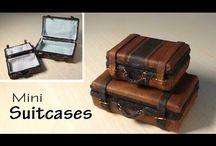 valigia in miniatura tutorial