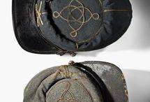 Men, Hats, Civil War Kepis