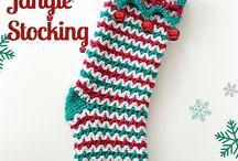 calze natalizie crochet