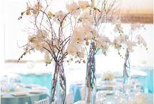 Wedding Decorations / Tables, lights, center pieces etc.