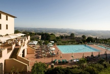 Our Hotel / Park Hotel le Fonti is located in a strategic position on the western side of the hill of Volterra. The wide valley that extends for 20 km leaves a great view over the Val di Cecina. The view from the terrace and pool area is breathtaking, on clear days we can also see the profile of Corse Island. Due to the location of Volterra, situated in the heart of Tuscany, Florence, Siena, Pisa, Lucca, Livorno and the major airports of the region can be reached in about an hour. / by Park Hotel le Fonti