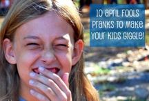 April Fools Day / How to get my kids with jokes and pranks!!!