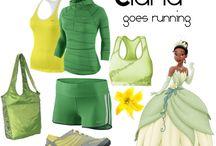 Run costumes