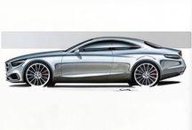 Sketch concept car