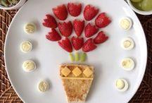 Creatief met groente en fruit / Laat je inspireren om je maaltijden op een creatieve manier te presenteren. #foodart #samensterk