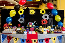 Transformer Birthday Party / by Ni-Chern Designs