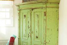 Repurposed/Chippy Furniture  / by Debi Freels