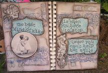 Art Journal / My art journal projects :D