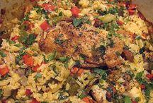 Chicken recipes / by Sierra Thompson