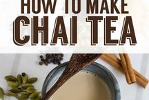 All Things Chia / Chai Tea and other Chai yummies. Just close your eyes and smell that aroma.