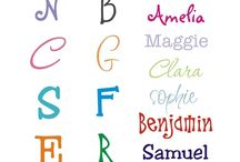 Fonts / by Sharon White