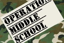 Operation Middle School / Things that will help my son and me get through Middle School.