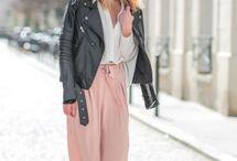 Think Pink Street Wear Winter Fashion ❤️