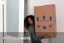 For Your Move / Moving timelines, checklists and tips. Everything you need for a quick, organized move. / by Allstate Insurance
