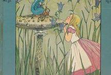 Alice in W:Art/Rie Cramer / Alice in wonderland (illustrator)