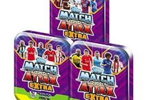 Match Attax Extra 15/16 / Trading cards game based on the Premier League.