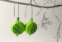 Polymer clay - Earrings / Inspirational photos of work by various artists - for tutorials, see my other board -
