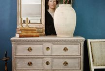 Gustavian furniture / Furniture created and made by K.A. Roos.The gustavian style is true to its 18th century origin and reproduced to meet a high standard in design and quality