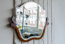 Vintage Mirror Magic / Beautiful Vintage Mirrors add a wonderful touch to any room