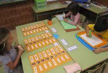 RACÓ DE LLETRES / jocs i activitats per treballar al racó de lletres a p3