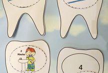 Dental health crafts