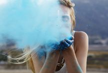 Smoke in Colors / Photography