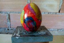 αυγα ζωγραφιστα