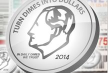 Dime$ / Dime$ are the dynamic virtual currency of Daily Dimes™ which are issued to you based on Membership level.