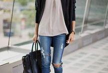 Jeans Skinny Déchirés