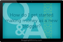 Monetization & Taxes / How to monetize your blog and report income.